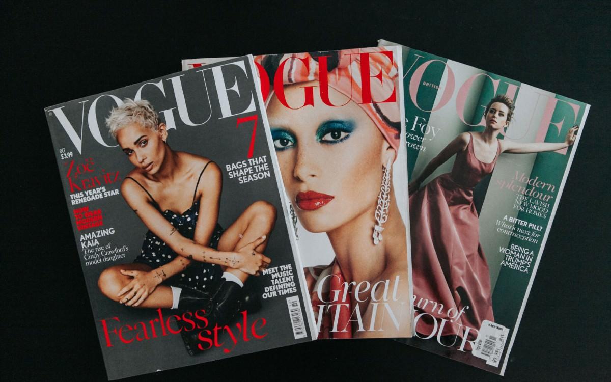 Sesja zdjęciowa | Publikacja w brytyjskim Vogue.