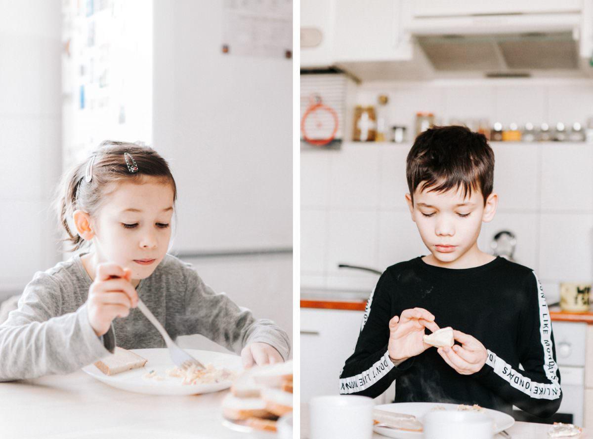 dzieci w czasie sesji rodzinnej