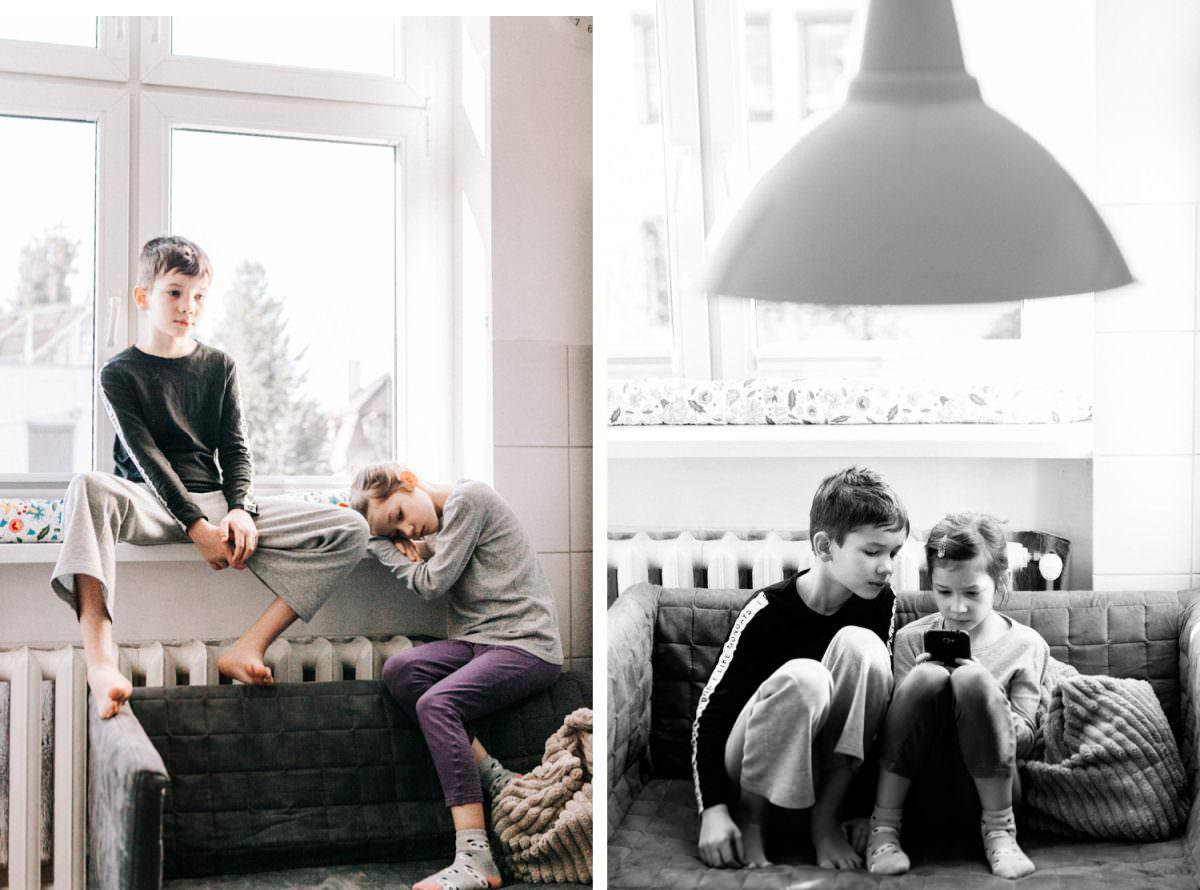 sesja zdjęciowa rodzinna w Pozaniu, dzieci