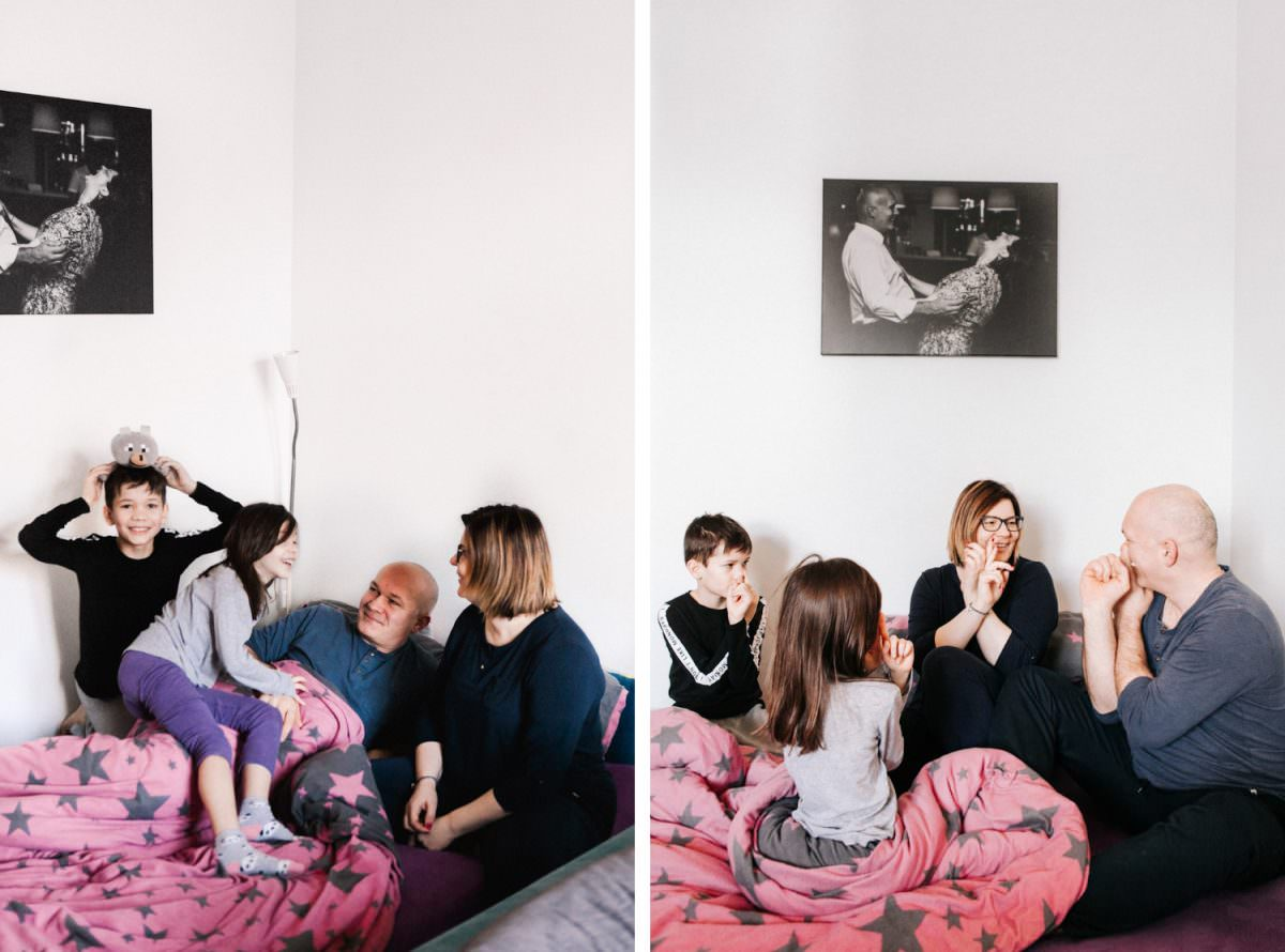 zdjęcia w piżamach